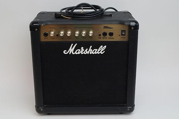 2015/05 Marshall MG15CD 15W ギターアンプ ブラック 1500円買取