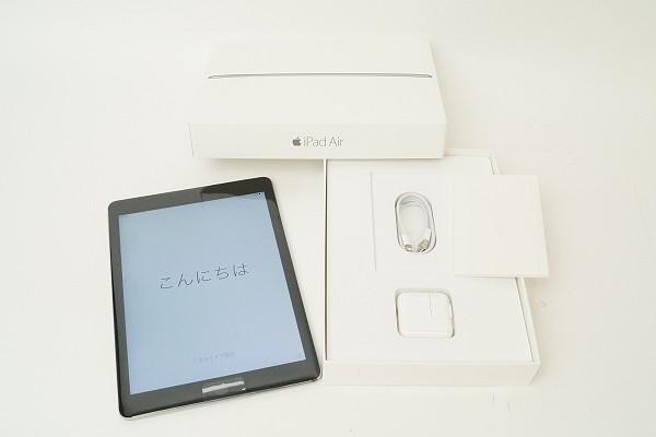 2015/05 Apple iPad Air Wi-Fi セルラー 128GB グレー MGWL2J/A 36000円買取
