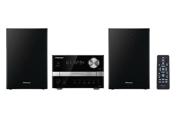 2015/06 Pioneer CDミニコンポーネントシステム ブラック X-EM12 2500円買取