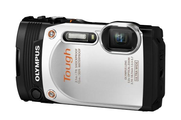 2015/08 OLYMPUS デジタルカメラ STYLUS TG-860 Tough ホワイト 15000円買取