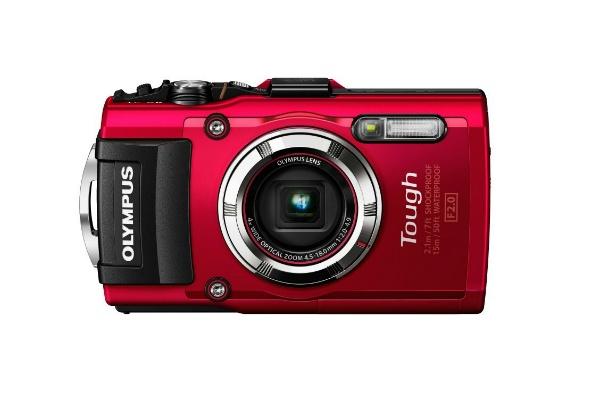 2015/08 OLYMPUS デジタルカメラ STYLUS TG-3 Tough レッド 21000円買取
