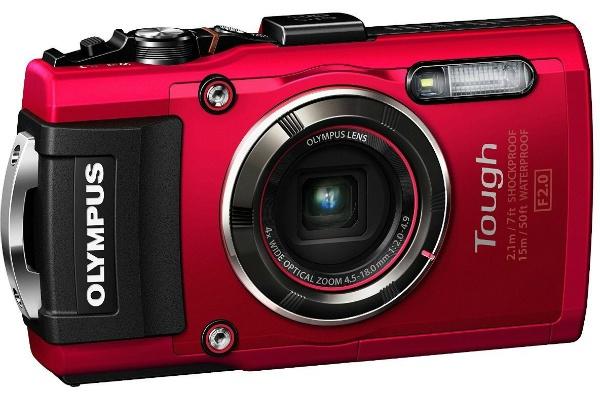 2015/08 OLYMPUS デジタルカメラ STYLUS TG-4 Tough レッド 1600万画素 24000円買取