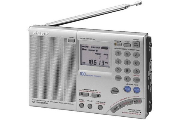 2015/08 SONY 短波ラジオ ICF-SW7600GR 並行輸入品 9000円買取