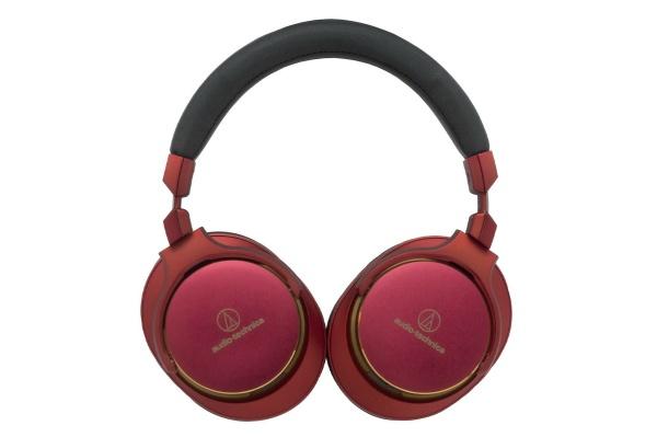 2015/10 オーディオテクニカ ポータブルヘッドホン ハイレゾ対応 限定レッド ATH-MSR7 LTD 10000円買取