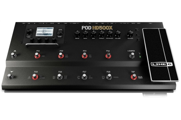 2015/10 LINE6 POD アンプシミュレーター POD HD500X 20000円買取