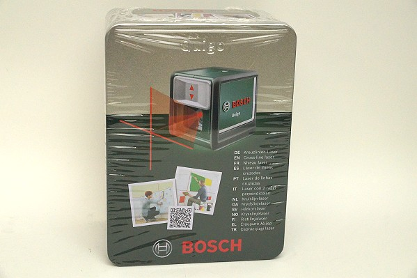 2015/10 BOSCH ボッシュ クロスラインレーザー Quigo2 3000円買取