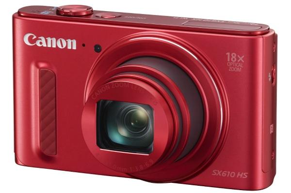 2015/11 Canon PowerShot SX610 HS レッド 光学18倍ズーム 6000円買取