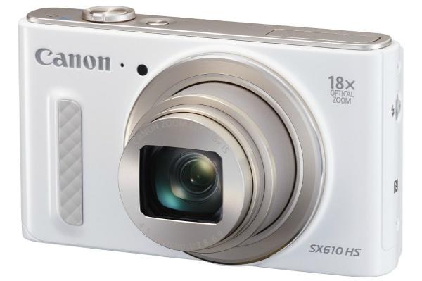 2015/11 Canon PowerShot SX610 HS ホワイト 光学18倍ズーム 7000円買取
