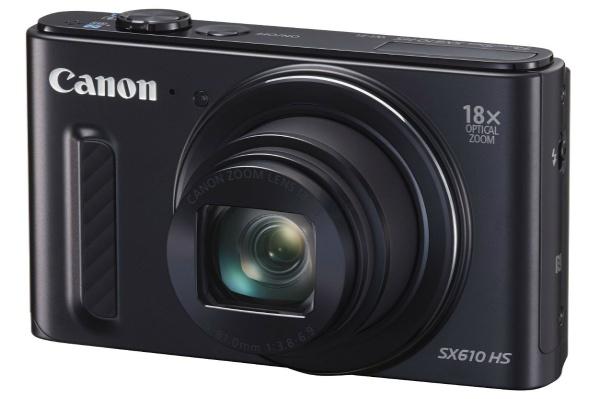 2015/11 Canon PowerShot SX610 HS ブラック 光学18倍ズーム 7000円買取