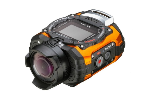 2015/11 RICOH 防水アクションカメラ(ウェアラブルカメラ) WG-M1 オレンジ 7000円買取