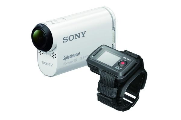 2015/11 SONY ビデオカメラ アクションカム AS100VR リモコンキット 防水ケース付 15000円買取