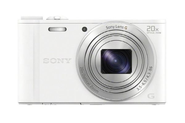 2015/11 SONY ソニー デジタルカメラ Cyber-shot WX350 光学20倍 ホワイト DSC-WX350-W 8000円買取