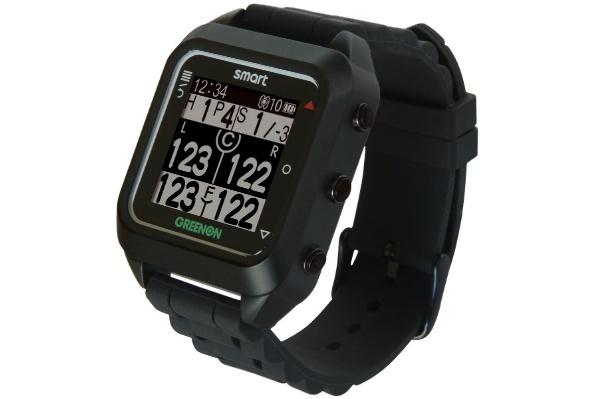 2016/01 GreenOn グリーンオン ゴルフナビ ザ・ゴルフウォッチ スマート ブラック GC01-BK 10000円買取