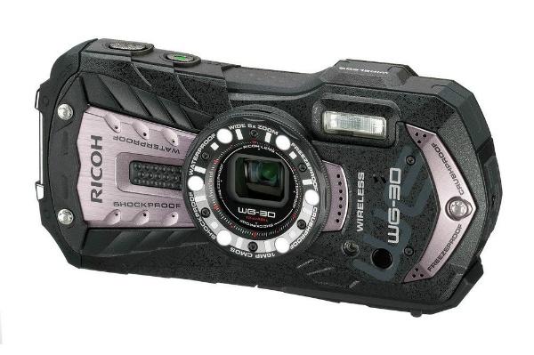 2016/01 RICOH リコー 防水デジタルカメラ WG-30W カーボングレー 9000円買取
