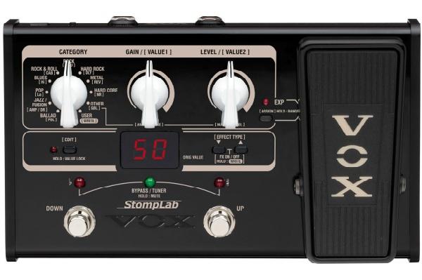 2016/02 VOX ギター用コンパクト・マルチ・エフェクター StompLab SL2G 2000円買取