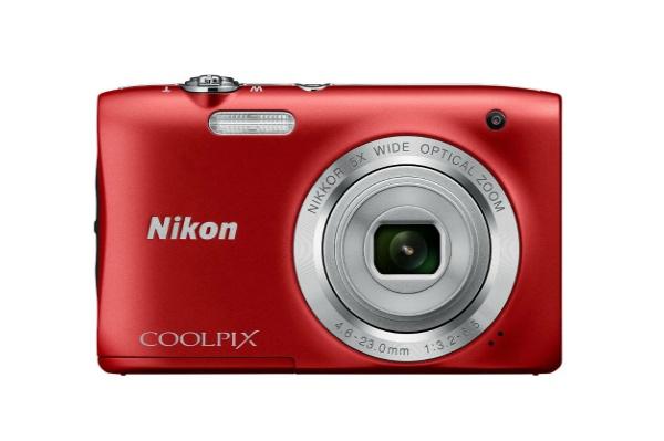 2016/03 Nikon デジタルカメラ COOLPIX S2900 レッド 2500円買取