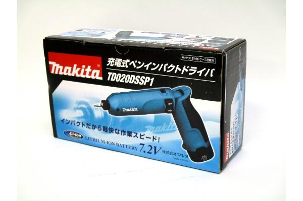 2016/05 マキタ TD020DSSP1 充電式ペンインパクトドライバ 3500円買取