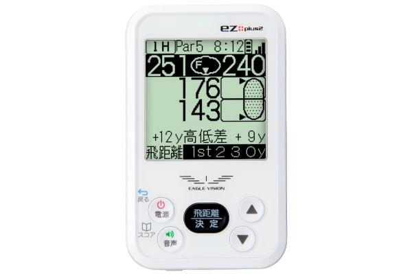 2016/07 朝日ゴルフ イーグルビジョン ez plus2 EV-615 ゴルフナビ GPS ホワイト 4500円買取
