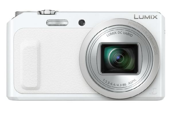 2016/08 Panasonic デジタルカメラ ルミックス TZ57 ホワイト DMC-TZ57-W 8000円買取