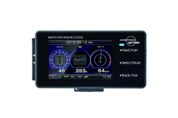 2016/09デイトナ(Daytona) バイク用GPSレーダー LCD 3.0 94420 18000円買取