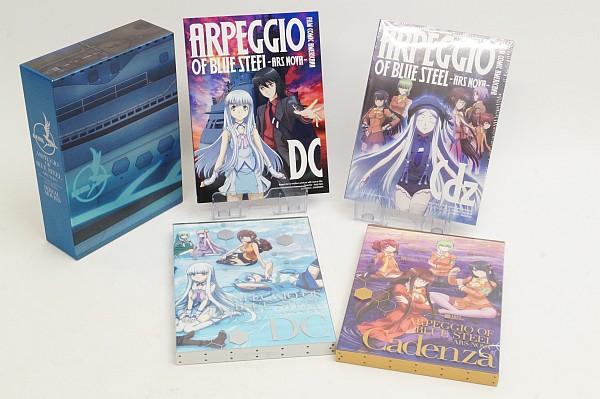 2016/09 Blu-ray 劇場版 蒼き鋼のアルペジオ アルス・ノヴァ DC 初回限定 4500円買取