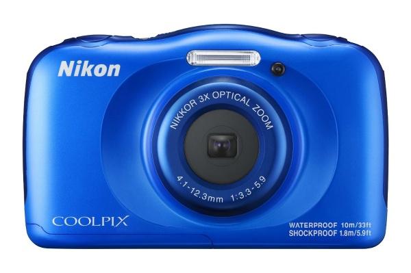 2016/12 Nikon ニコン COOLPIX W100BL クールピクス ブルー 6000円買取