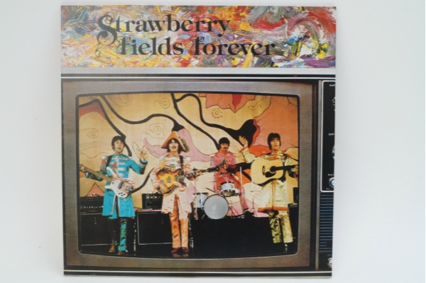 LP The Beatles ビートルズ Strawberry Fields Forever