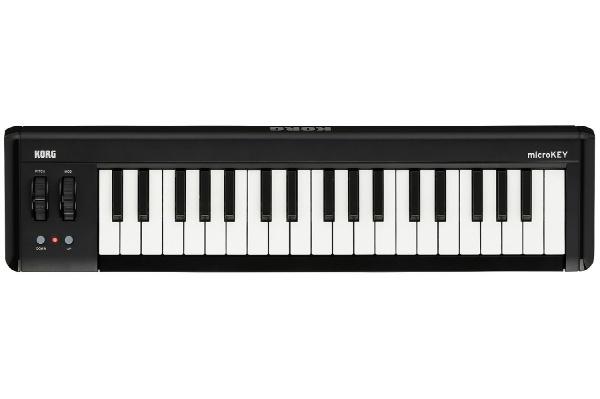 2017/01 KORG USB MIDI キーボード microKEY2-37 2200円買取