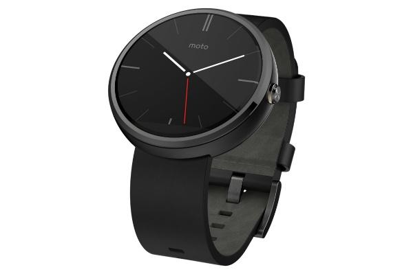 2017/01 モトローラ Moto 360 Watch スマートウォッチ Android Wear ブラックレザー 6500円買取