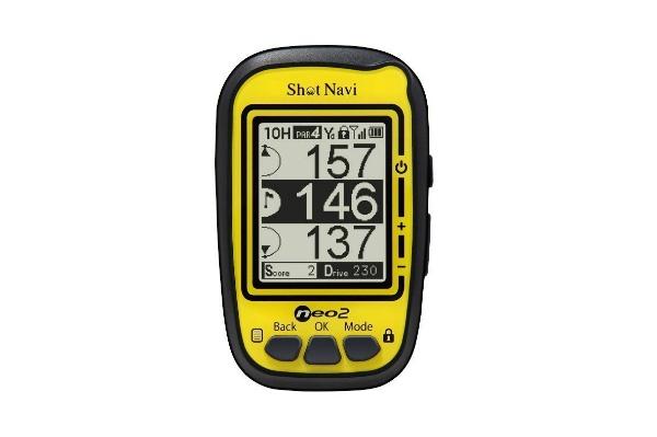 2017/01 Shot Navi ショットナビ ゴルフナビ GPS ショットナビ ネオ2 SN-NEO2 4000円買取