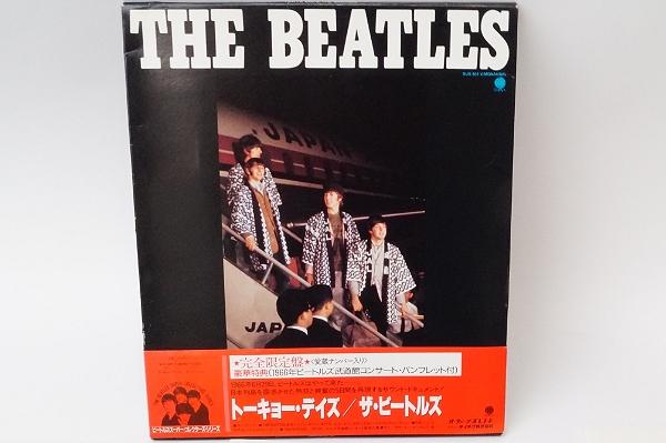 LP The Beatles ビートルズ TOKYO DAYS トーキョーデイズ
