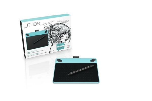 2017/01 ワコム ペンタブレット Intuos Draw Sサイズ ミントブルー CTL-490/B0 3000円買取
