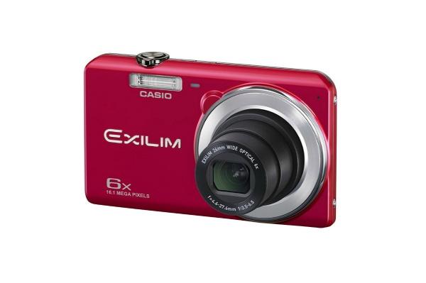 2017/03 CASIO デジタルカメラ EXILIM EX-ZS28RD 1610万画素 レッド 2500円買取