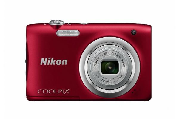 2017/03 Nikon ニコン デジタルカメラ COOLPIX  A100RE レッド 3500円買取