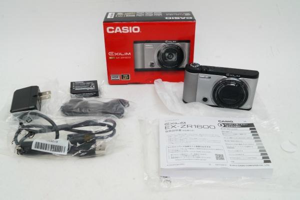 2017/03 CASIO デジタルカメラ EXILIM EX-ZR1600 8000円買取
