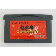 "GBA 鬼武者タクティクス</br>ソフトのみ </br><font size=""6px"" color=""yellow"">400円</font>"
