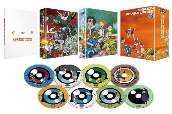2017/05 BDソフト  デジモンアドベンチャー02 15th Anniversary Blu-ray BOX 17000円買取