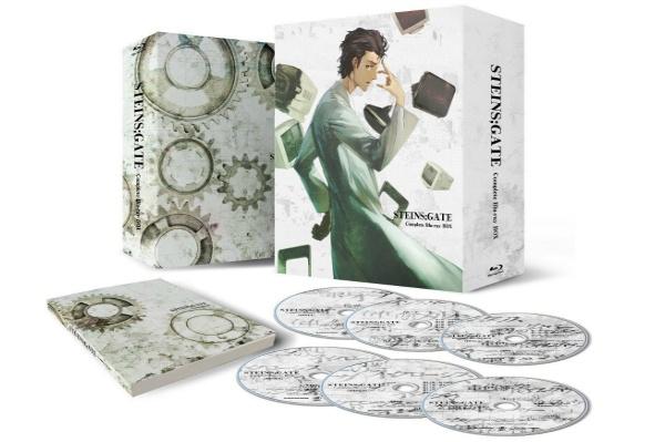2017/05 BDソフト STEINS;GATE シュタインズゲート コンプリート Blu-ray BOX 期間限定生産 12000円買取