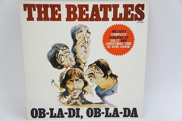 LP The Beatles ビートルズ OB-LA-DI,OB-LA-DA オブラディオブラダ