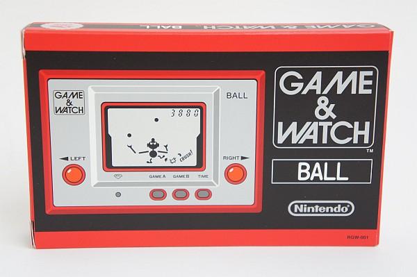2017/08 任天堂 GAME&WATCH BALL ゲームウォッチ ボール 復刻版 1000円買取