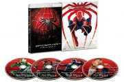 2018/07 BDソフト スパイダーマン トリロジー ブルーレイ コンプリートBOX Blu-ray 1500円買取